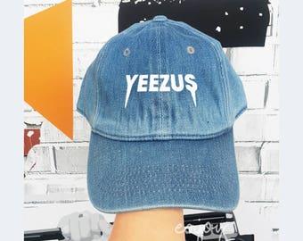 Yeezus Baseball Cotton Hat Unisex Cap Fashion Cap HatCap Flock Flex Hat