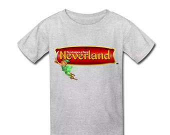 Peter Pan in Neverland T-Shirt for Kids