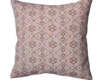 Cushion/sofa cushion 50 x 50 cm, Jaquardmaterial, cream beige