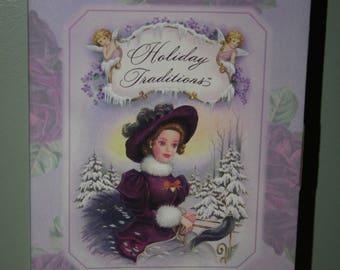 "Hallmark ""Holiday Traditions"" Barbie"