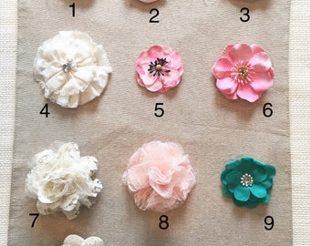 Rosette and Butterfly Accent Choices *Do Not Purchase This Listing*
