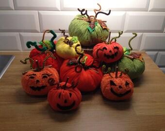 Pumpkins for halloween decoration