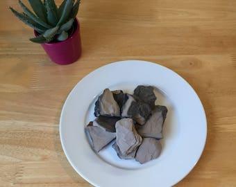 Indian Grey Roasted Clay Chunks