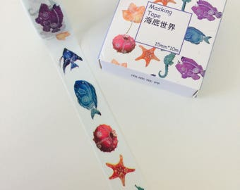 Under The Sea Washi Tape - Fish Washi Tape