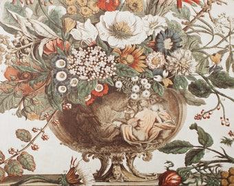Vintage Bohemian Botanical Print No. 3