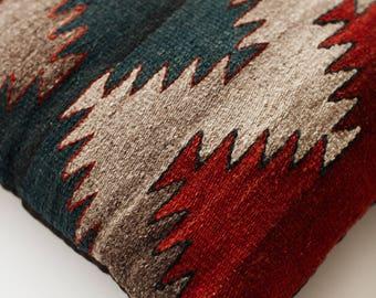 Vintage Aztec Kilim Pillow