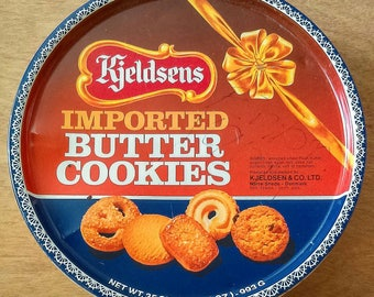 Kjeldsen Cookie Tin