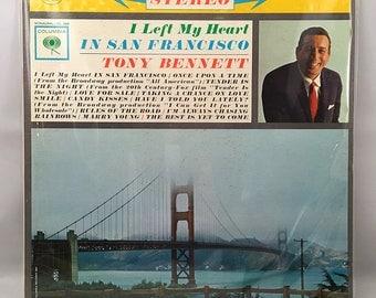 Tony Bennett - I Left My Heart In San Francisco LP Vinyl Record Columbia