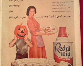 1958 Vintage Life Magazine ad – Reddi Wip