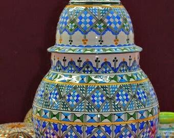 Algerian (berber) Style Pot from 1960