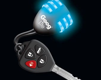 Key Brite handbag key finder.  Just shake and it flashes.  Find your keys in a flash.