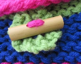 Handmade Hawaiian Bamboo Buttons