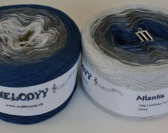 Wolltraum Atlantis 3 Ply Gradient Yarn