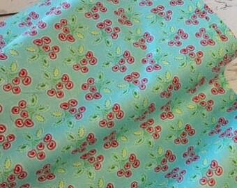 SALE Love & Joy Cherry  - Cotton Fabric - Dena Designs - Free Spirit Fabrics