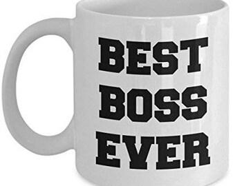 Best Boss Ever, Gifts For Boss, Funny Boss Coffee Mug, Unique Gifts Idea, Boss Mug, Funny boss gift, Funny Coffee Mug
