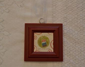 Creative Memories (2008) Picture Frame Ornament (Red)