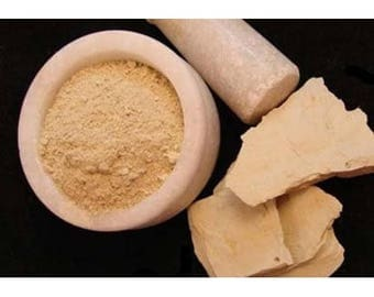 Fuller's Earth Clay Powder Great for acne prone skin, combination skin &  skin lightening powerful ability to absorb oils From Face 100gm