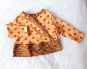 Baby sweater 56 / 62 retro