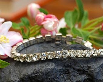 Vintage Rhinestone Bracelet Two Looks