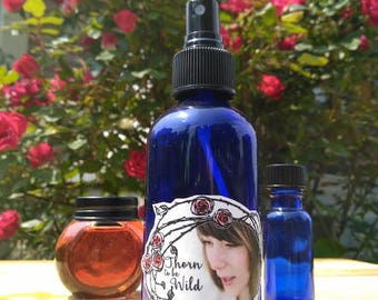All Natural Rose Detangler Spray
