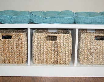 Solid Wood Storage Bench - Handmade Custom Order - Built to Your Specifications