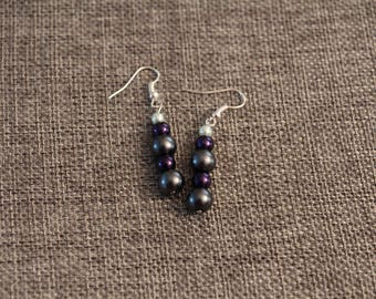 Handmade Glass Pearl Earrings