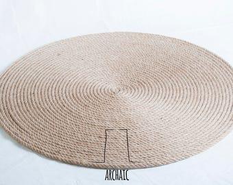 Hand made jute rug ,jute rug,jute carpet,natural rug,door mat,house decor,carpet,rug,bohemian rug,minimalist rug,minimalist carpet