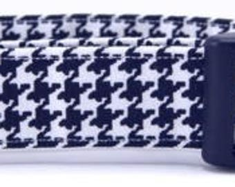HOUNDSTOOTH PRINTED COLLAR