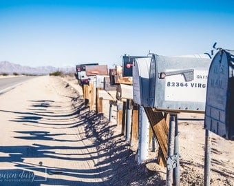 Desert Mail - fine art photography print