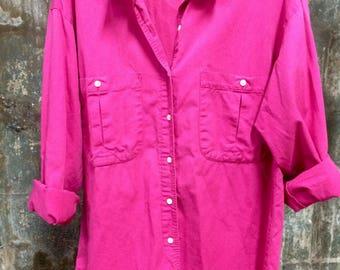 Vintage Pink Gap Shirt
