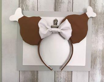 Original Turkey Leg Inspired Mickey Ears. Minnie Ears. Turkey Leg. Snack Mickey Ears.