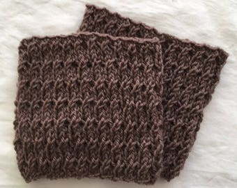Cute little cable knit Bootcuff/toppers