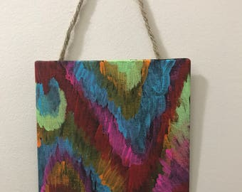Small Ikat Painting