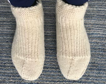 Men's Wool Slipper Socks