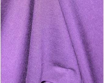 "Deep Purple Jersey Fabric - 54"" Wide - 2 Yard (KF18)"