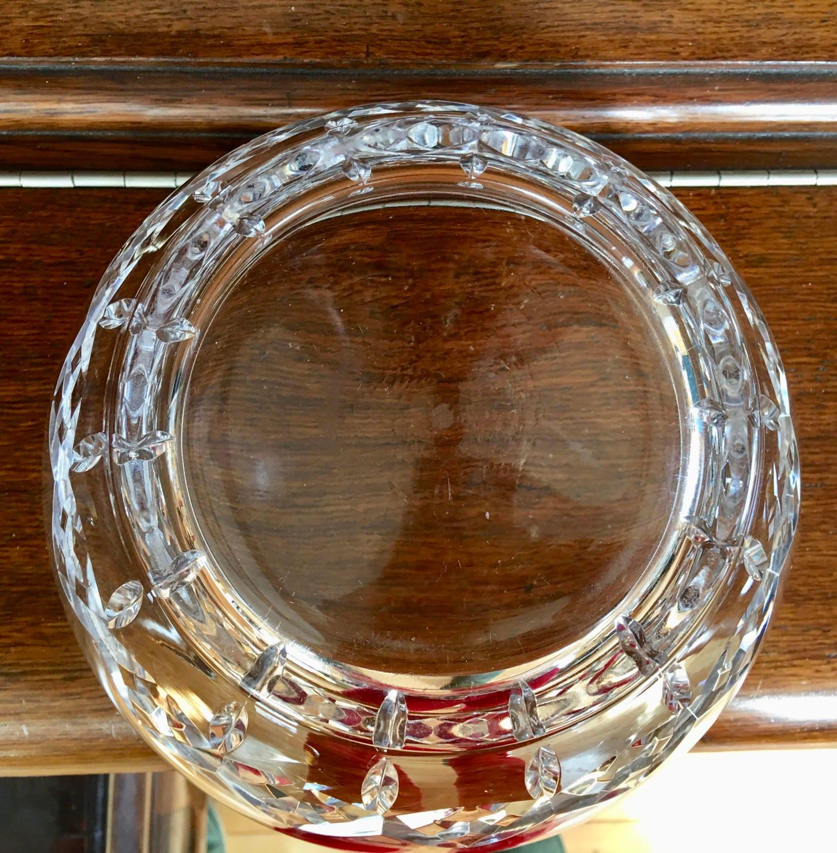 Lenox lead crystal vintage bowl centerpiece wedding gift