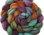 CTA SAL - Handpainted Heathered BFL Roving - 4 oz. Arizona - Spinning Fiber