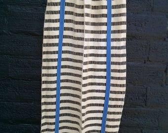 Vintage 1930s Curtains Drapes Mid Century MCM Raw Cotton Open Weave 6 Panels