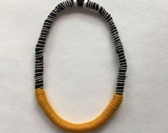 Custom - Textile Statement Necklace