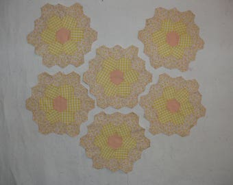 Hexagon Daisey patches
