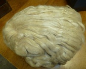 Tussah Silk Unbleached Top  7.5 ounces