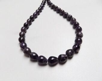 Teardrop striped Agate beads