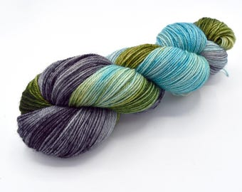 Thunderboom Variegated - Hand Dyed Yarn - Dyed to Order