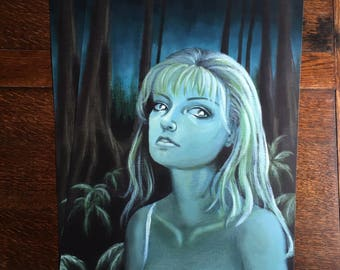 Twin Peaks - Laura Palmer - Lost In The Woods print poster