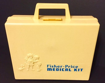 Fisher Price Medical Kit Vintage 1974
