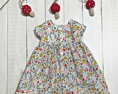 "The Billie Dress - Organic Cotton - For 18"" - 20"" Dolls"