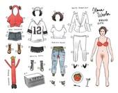 Broad City Paper Doll -- Ilana Wexler