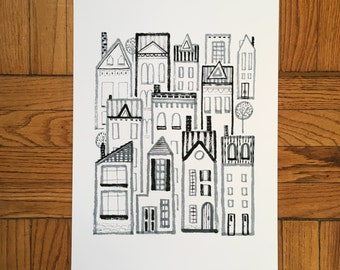 Home, 13x19 and 8.5x11, Art Print