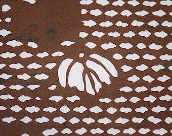 Vintage Japanese Katagami Stencil from Japan - Floating Ivy