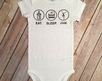 Eat Sleep Jam BodySuit